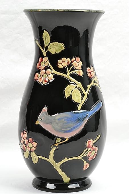 Amazon Weller Pottery Vase 1910 Rosemont Blue Jay Vase Home