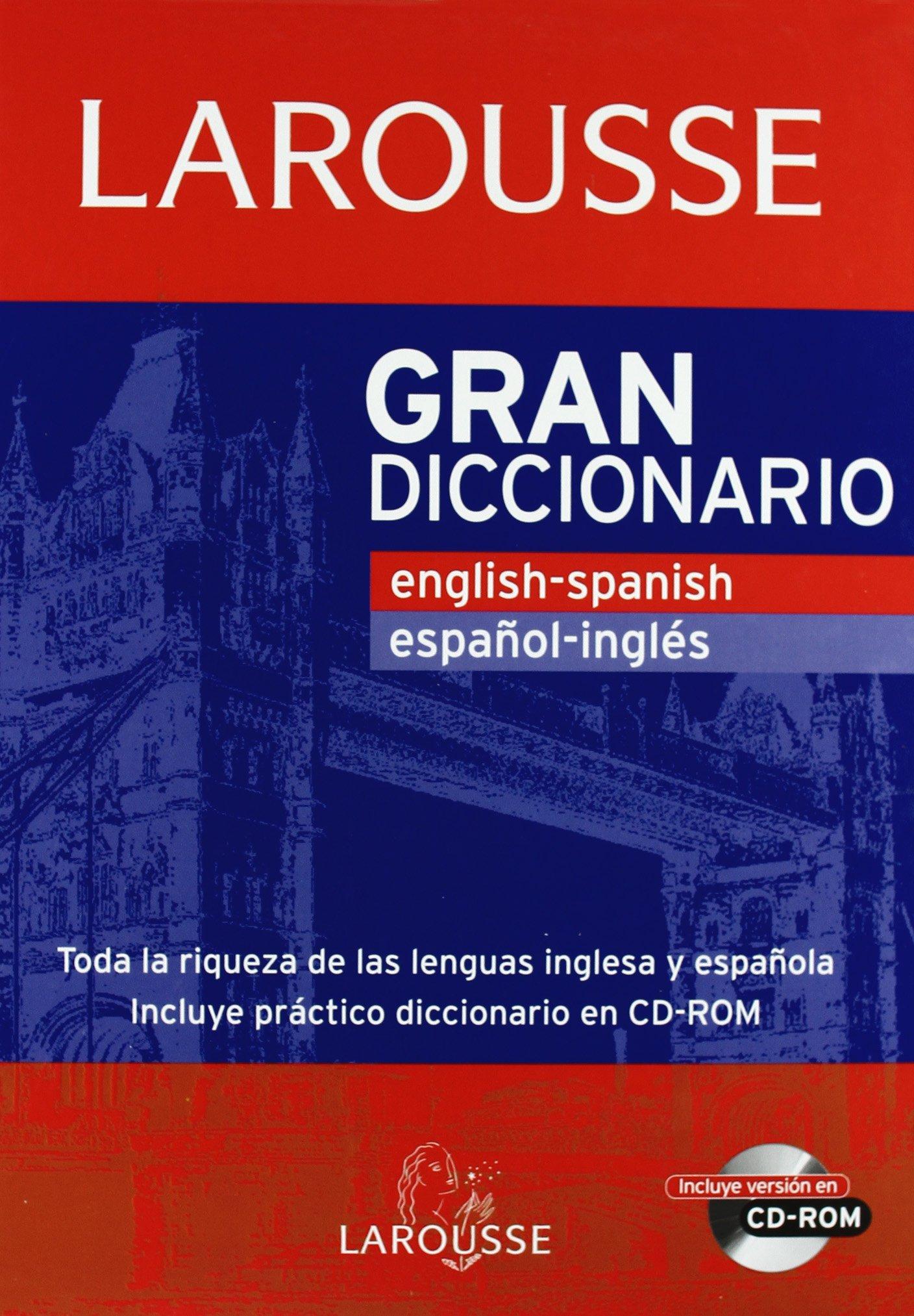 Gran Diccionario English-Spanish / Español-Ingles Larousse - Lengua Inglesa - Diccionarios Generales: Amazon.es: Aa.Vv.: Libros