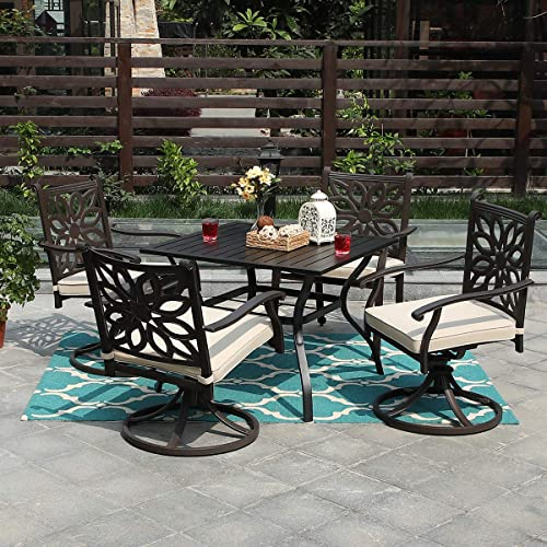 PHI VILLA Patio 5 Piece Set