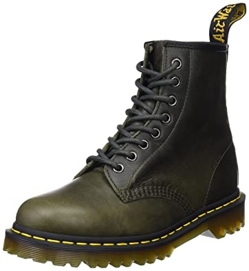 3f047d5a4d Dr. Martens Men's 1460 Dark Taupe Orleans Leather Fashion Boot 6 Medium UK  (7