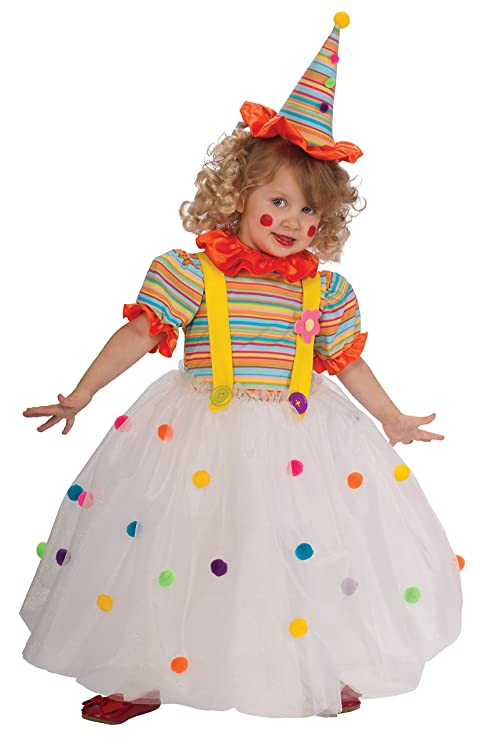 Candy Clown Costume Toddler  sc 1 st  Amazon.com : clown costumes for toddlers  - Germanpascual.Com