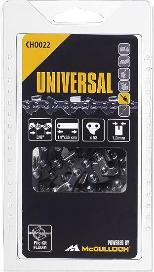 Universal 5055134-22/4 CHO022 Cadena de sierra para motosierra, 14