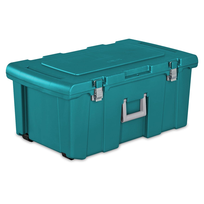 Sterilite Footlocker- Varsity Blue, Set of 2