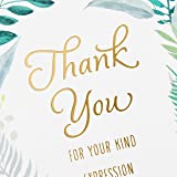 Hallmark Pack of 20 Thank You for Your Sympathy