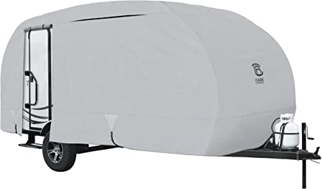 Classic Accessories Permapro Heavy Duty R Pod Travel Trailer Cover Model 4 Grey Limited