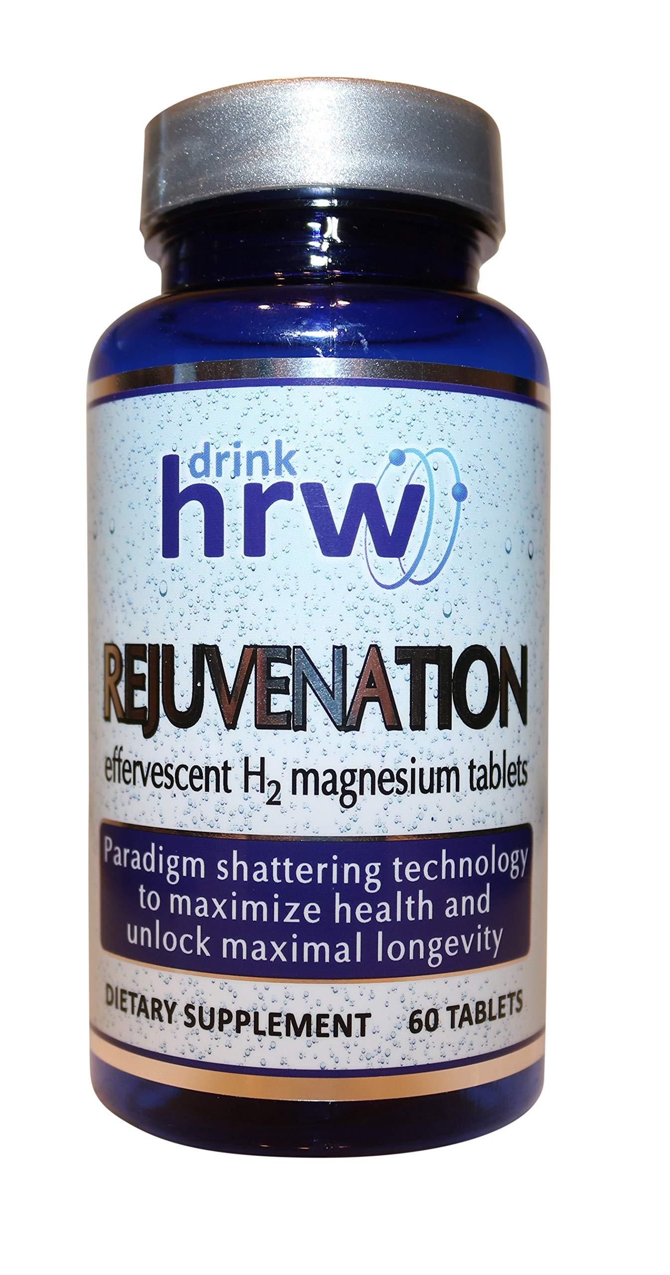 Rejuvenation effervescent H2 Molecular Hydrogen Magnesium Tablets: Hydrogen Water (1)