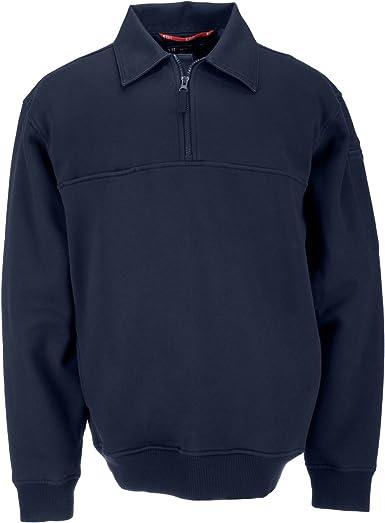 5.11 Tactical # 72321 Trabajo Camisa con Detalle de Lienzo (Fire Azul Marino), Hombre, Color Fire Navy, tamaño Large: Amazon.es: Ropa y accesorios
