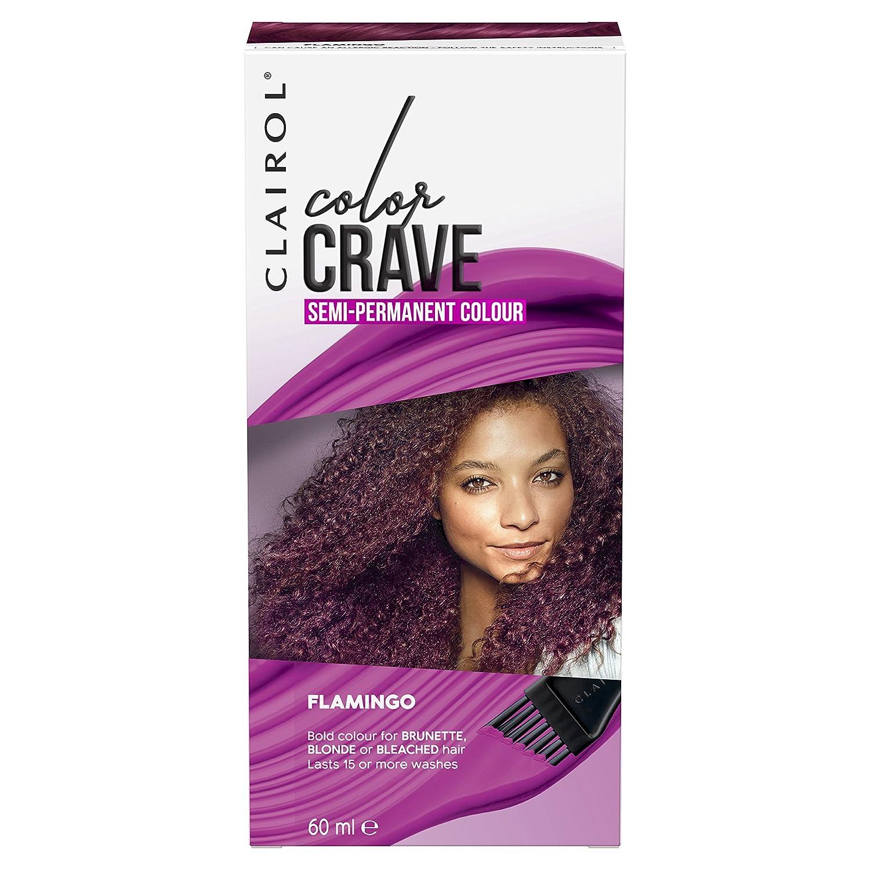 clairol colour crave semi permanent hair dye flamingo 60ml amazon