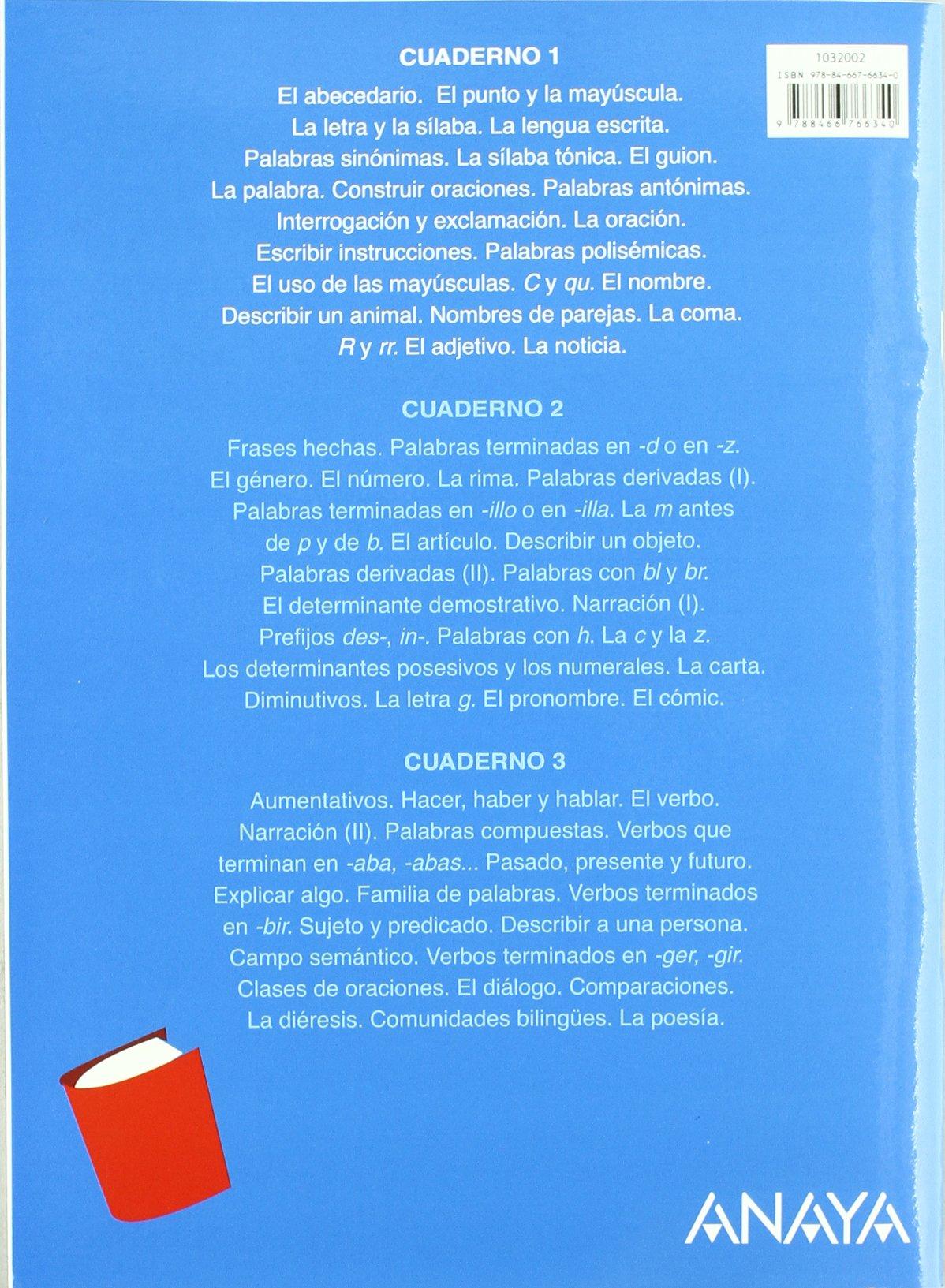 Lengua 3. Cuaderno 1. (Abre la puerta): Amazon.es: María Isabel Fuentes Zaragoza: Libros