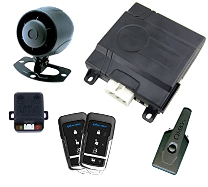 Amazon.com: Excalibur (AL1660EDPB Deluxe 1-Way Vehicle Security and Remote Start System: Automotive