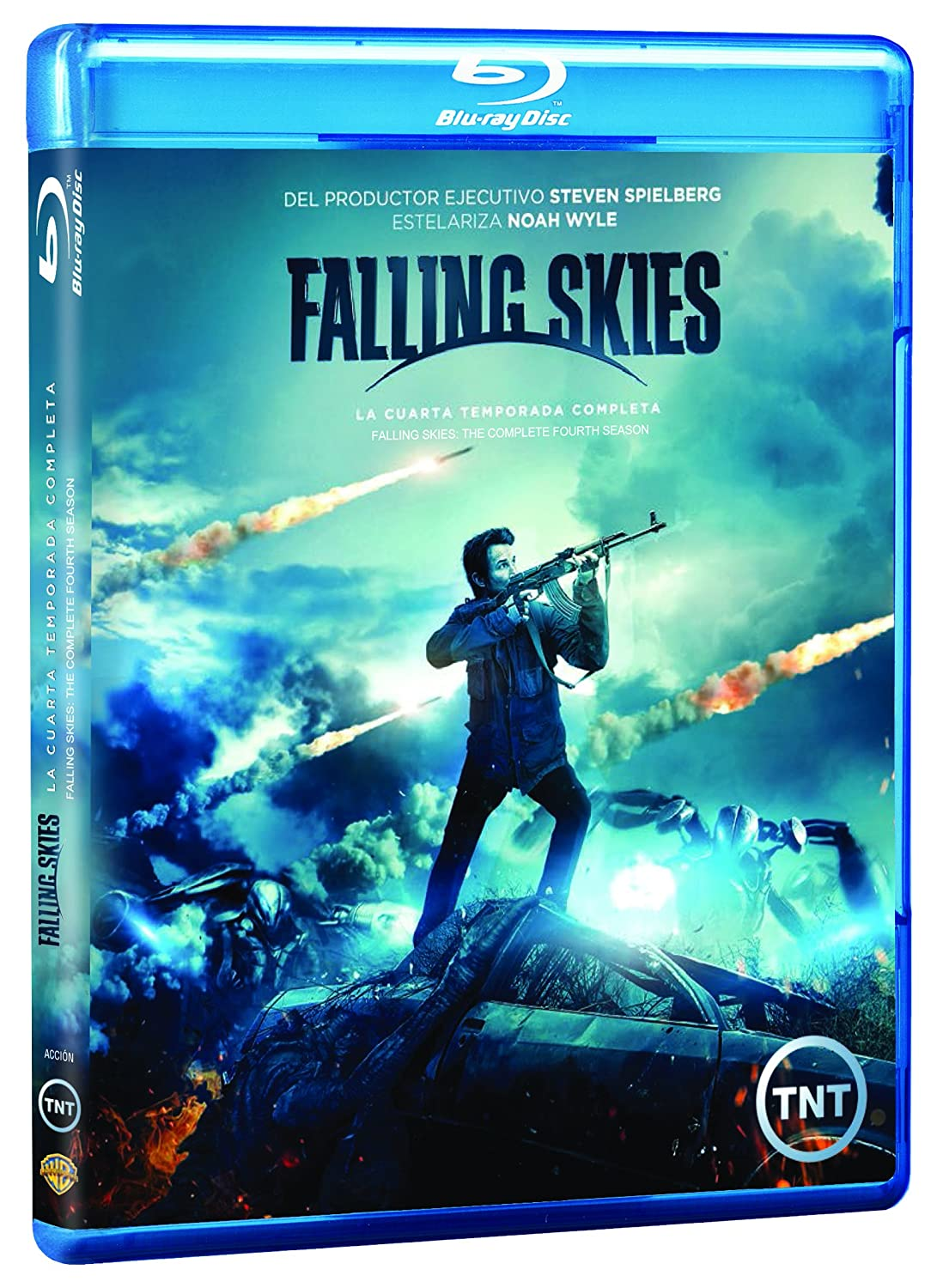 Falling Skies Temporada 4 Español Latino Blu-ray: Amazon.ca: Noah ...