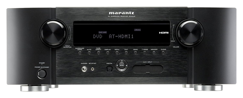 Amazon.com: Marantz SR4003 Surround Receiver (Discontinued by  Manufacturer): Home Audio & Theater