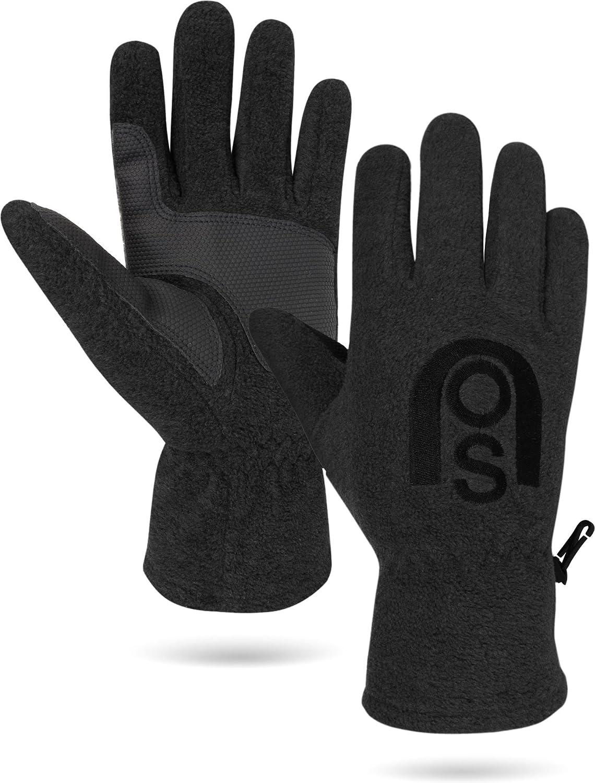 normani Unisex Winter Fleece Handschuhe mit verstärkter Handinnenfläche Nuuk