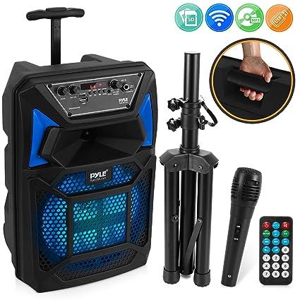 Amazon.com: Pyle PPHP82SM - Altavoz portátil con Bluetooth ...