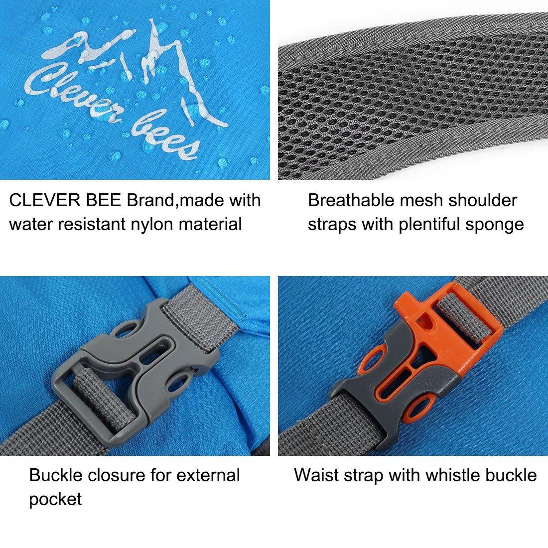 Amazon.com : Abelhas DealMux inteligentes Autorizado Pacote Resistente Mochila mochila leve compactáveis ??viagem Caminhadas Camping Outdoor Água : Sports & ...