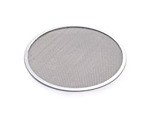New Star Foodservice 50967 Seamless Aluminum Pizza Screen, Commercial Grade, 14-Inch, Pack of 6
