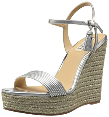 9c0b51c7ab6 Amazon.com: Badgley Mischka Women's Trace Espadrille Wedge Sandal: Shoes