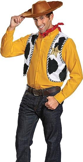 morris costumes - Disfraz de Vaquero para Hombre (198459): Amazon ...
