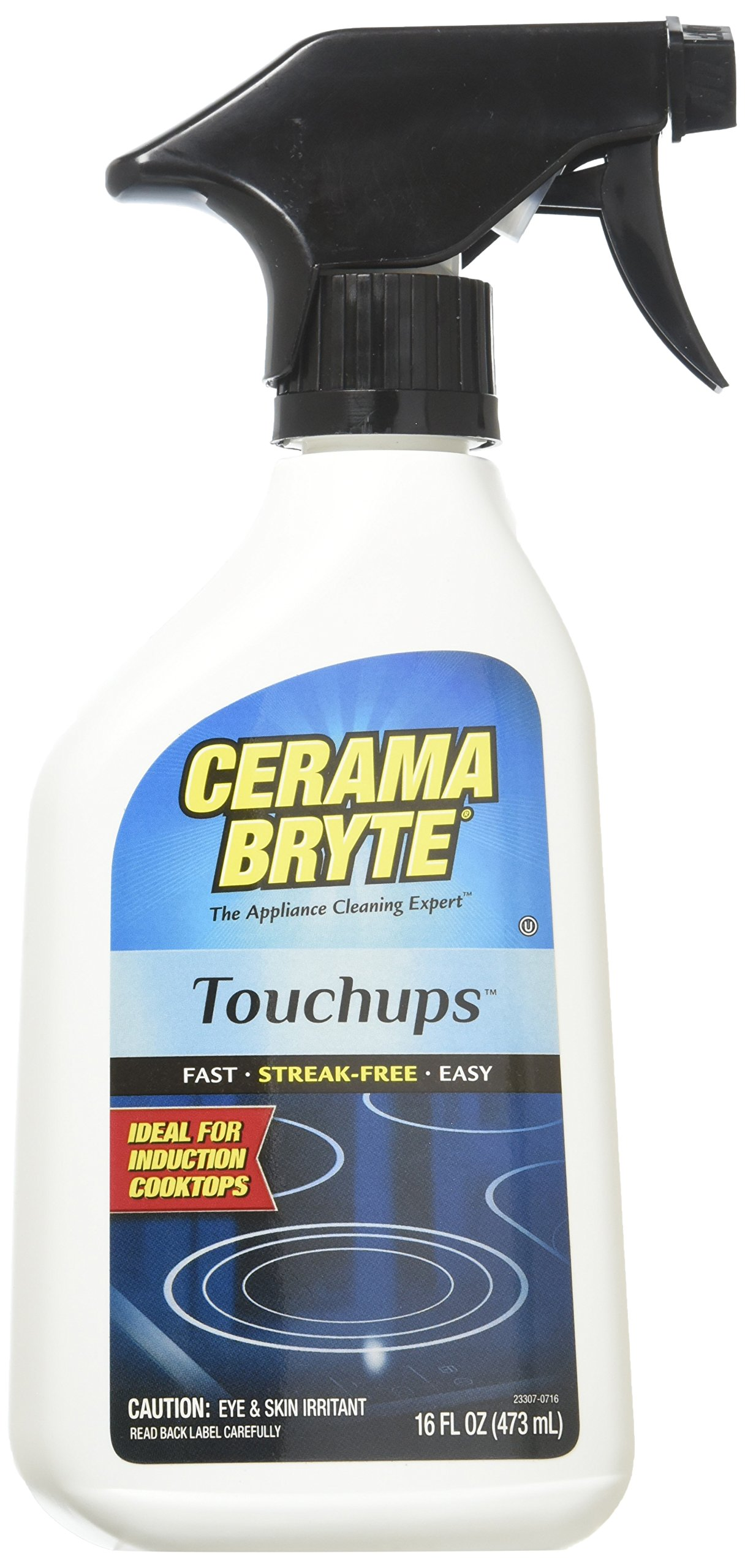 (2 Pack) Cerama Bryte Touchups Ceramic Cooktop Cleaner Trigger Spray, 16 oz. Each