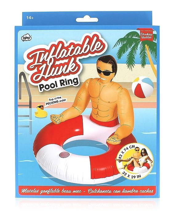 NPW - Flotador Gigante con Hombre musculoso, colección Pop Fix (NPW53265): Amazon.es: Juguetes y juegos