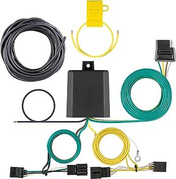 audi q5 hitch wiring amazon com curt 56422 vehicle side custom 4 pin trailer wiring  curt 56422 vehicle side custom 4 pin