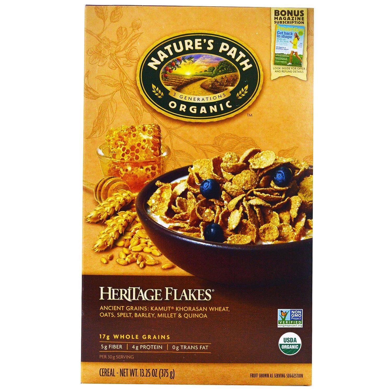 Natures Path fría Heritage Flake Cereales orgánicos, 13.25 ...