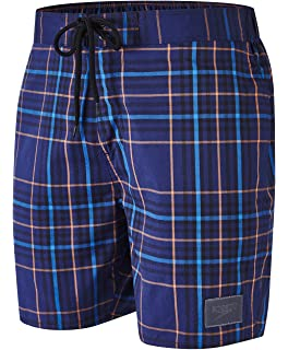 008f973d47 Speedo Men's YD Check Leisure 18-Inch Water Shorts: Amazon.co.uk ...