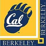 Creative Converting UC Berkeley Golden Bears Beverage Napkins, 20-Count