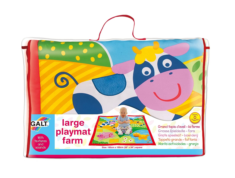 galt toys large playmat farm galt amazoncouk baby -