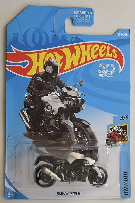 Amazon Com Hot Wheels 2018 Hw Moto Bmw K 1300 R Motorcycle 356 365 White Toys Games