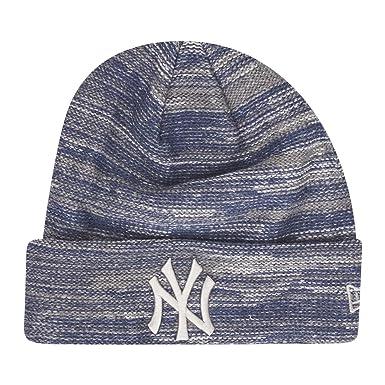 4102bac612f New Era Men Accessories Beanie Marl Cuff NY Yankees Blue Standard Size