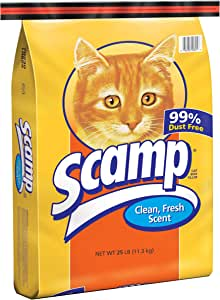 Scamp Non-Clumping Cat Litter
