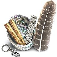 Smudge Kit   Sage, Palo Santo, Abalone Shell, Feather + More! Free