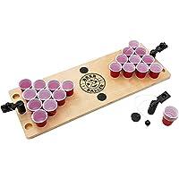 BeerBaller® Shot Pong: Das legendäre Bier Pong Spiel als Shot Version! | DIE TRINKSPIEL NEUHEIT 2019! | Inklusive gratis Ersatzteile | Das perfekte Trinkspiel für Deine Party!