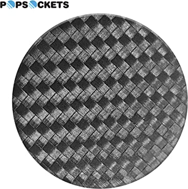 1e05a79e26e8 PopSockets  Collapsible Grip and Stand for Phones and Tablets - Carbonite  Weave
