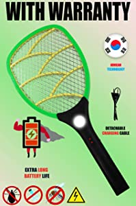 Viola Rocklight Heavy Duty Rechargeable Mosquito Racket Bat
