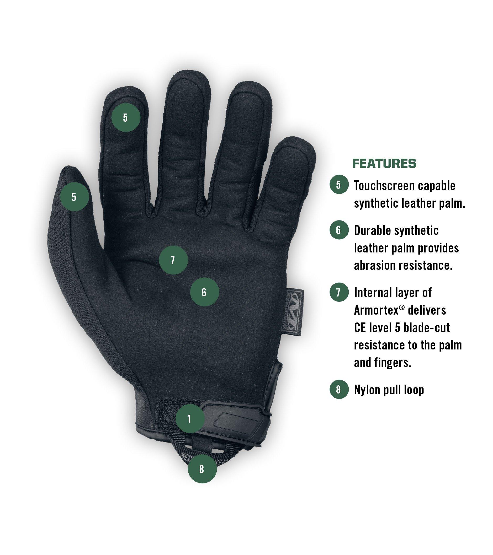 Mechanix Wear - Tactical Specialty Pursuit CR5 Cut Resistant Gloves (Large, Black) by Mechanix Wear (Image #3)