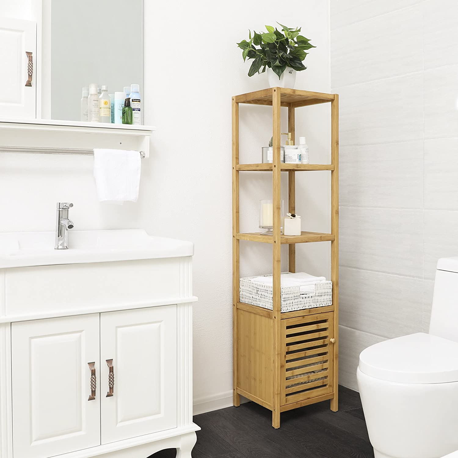 8 Best Bathroom Storage Cabinets For Small Spaces in 2019 ...