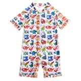 ATTRACO Kids Sunshirt 1 Piece Bathing Suit For