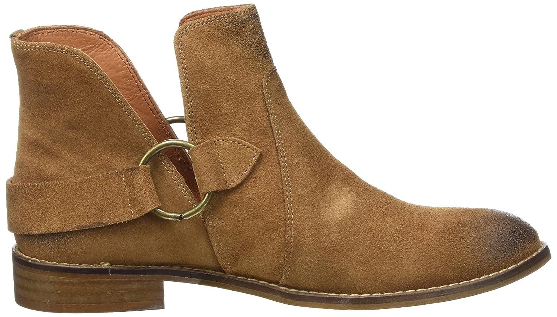 Buffalo London BB BF-COLUMBRA Serraje, Botines para Mujer, Beige (MUSCADE 07), 39 EU: Amazon.es: Zapatos y complementos