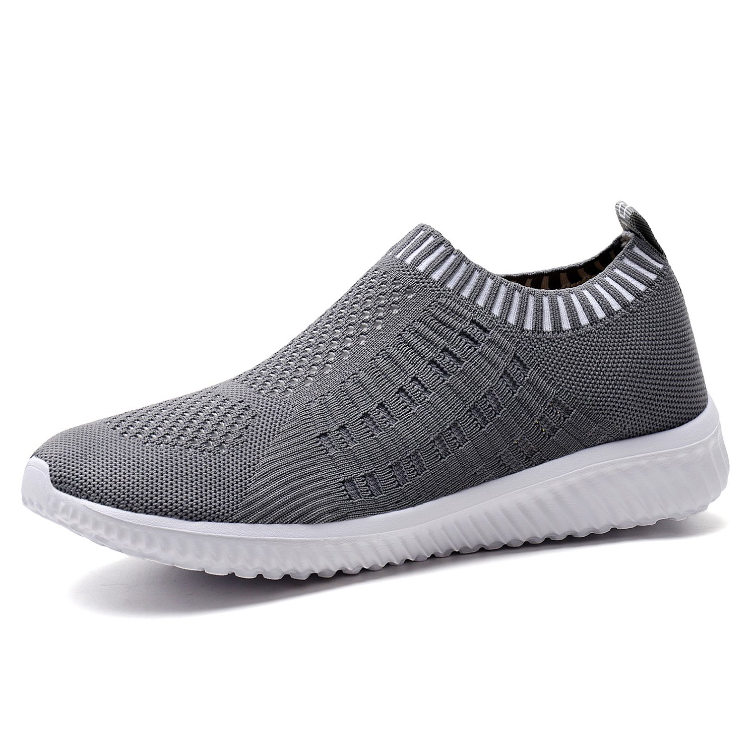 TIOSEBON Women's Athletic Shoes Casual Mesh Walking Sneakers B076P2P3GX - Breathable Running Shoes B076P2P3GX Sneakers 6.5 M US|6701 Deep Gray 433f96