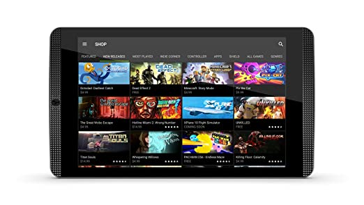 "197 opinioni per Nvidia Shield Tablet K1, 8"" Full HD, RAM 2 GB, Nero"