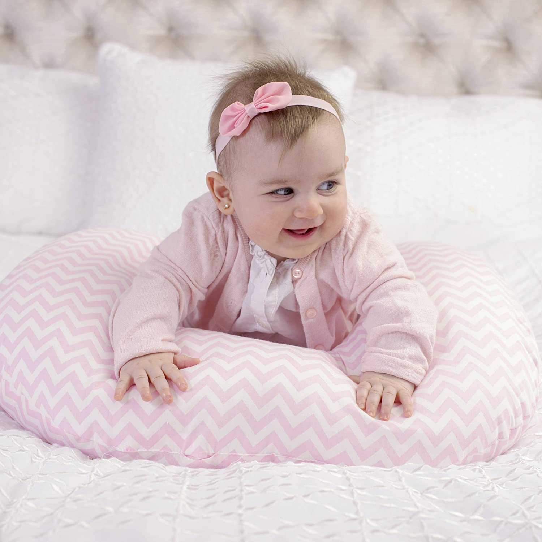100/% Cotton Pink Chevron Kidiway 2010 Kidilove Nursing pillow self cover