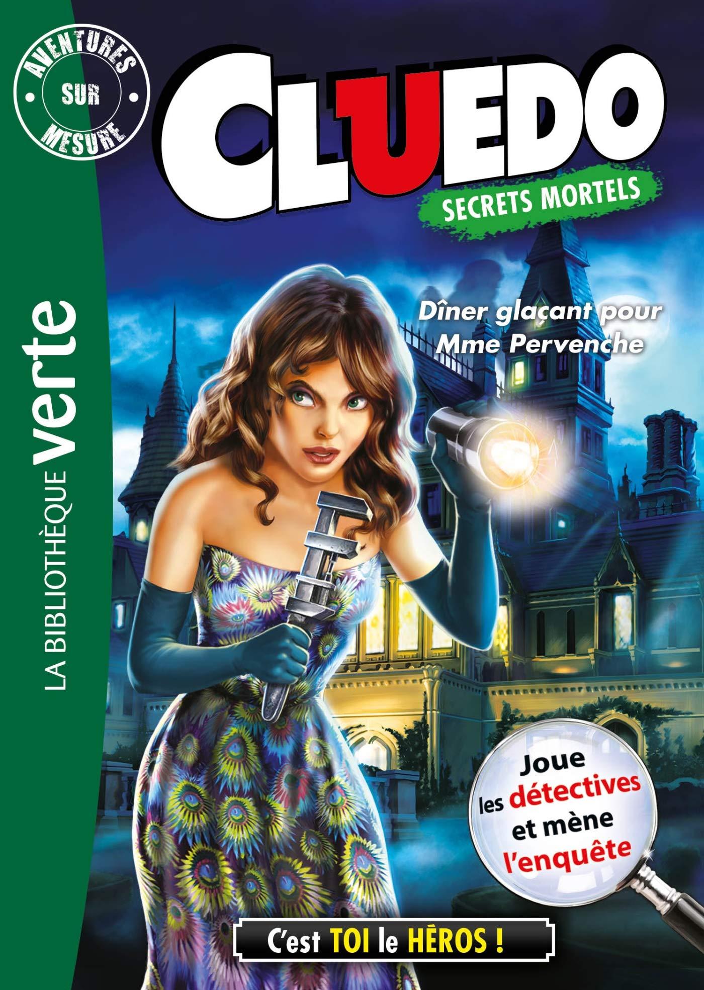 Aventure sur mesure Cluedo 18 - Dîner glaçant pour Mme Pervenche Bibliothèque Verte Plus: Amazon.es: Hasbro: Libros en idiomas extranjeros