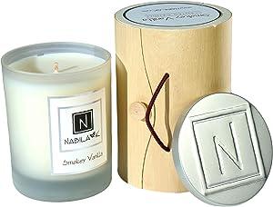 Home Ambiance Candle (Smokey Vanilla, 14oz)