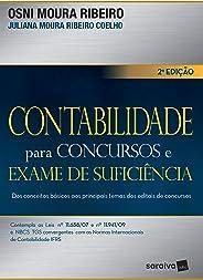 Contabilidade para concursos e exame de suficiência: Dos conceitos básicos aos principais temas dos editais de concursos