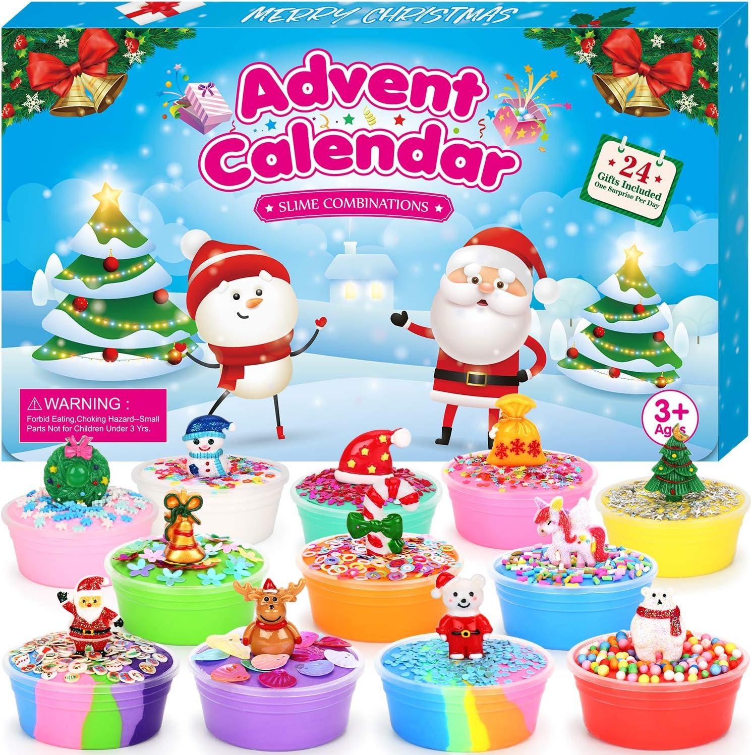 The Christmas Calendar 2020 Release Amazon.com: ELOVER Slime Advent Calendar 2020 Countdown to