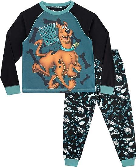 Pigiama a Maniche Lunghe per Ragazze Scooby Doo