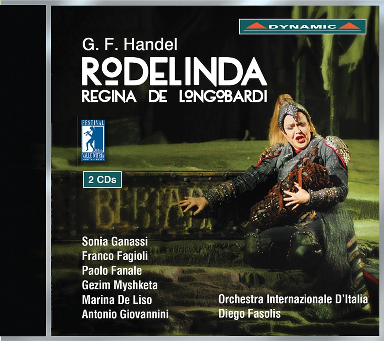 Haendel : Rodelinda / Ganassi / Fasolis