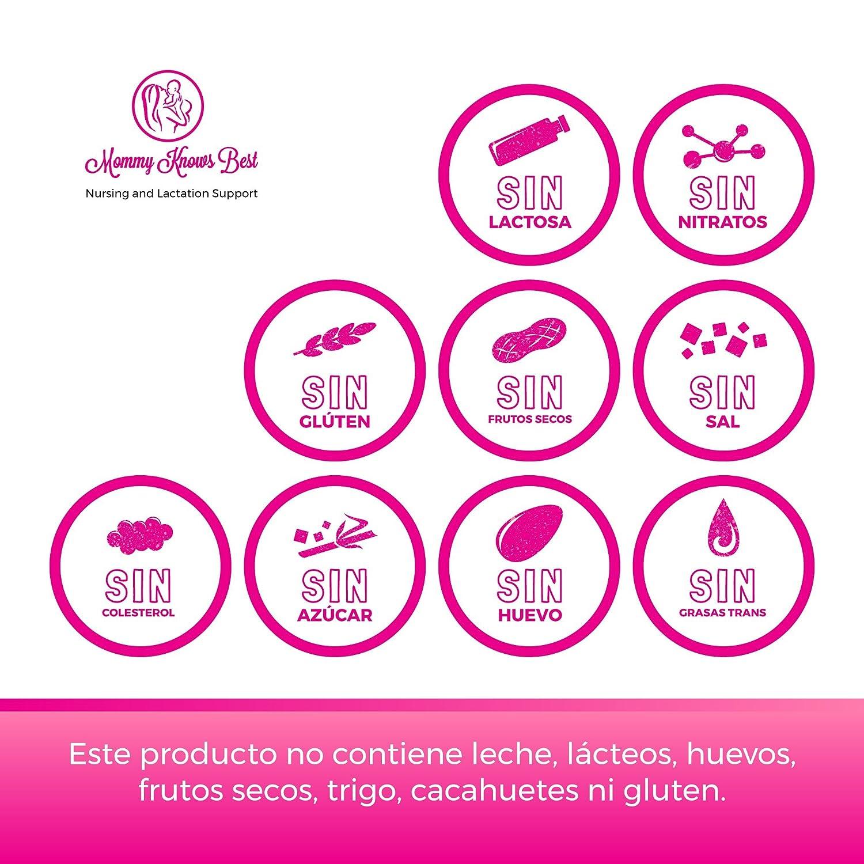 Amazon.com : Crema Para las Estrias - Crema Estrías de Mommy Knows Best - Crema Celulitis - Elimina Estrías del Embarazo - Clínicamente Probada : Beauty